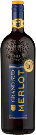 """Вино """"Grand Sud"""" Merlot, 2009, 1 л"""