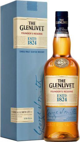 "Виски The Glenlivet ""Founder's Reserve"", gift box, 0.7 л"